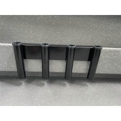 4 Rod removable coaming...