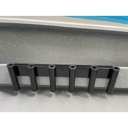 6 Rod removable coaming...
